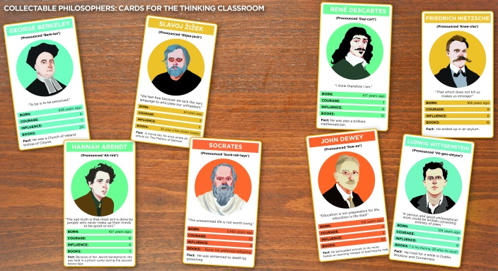 Philosophical top trumps